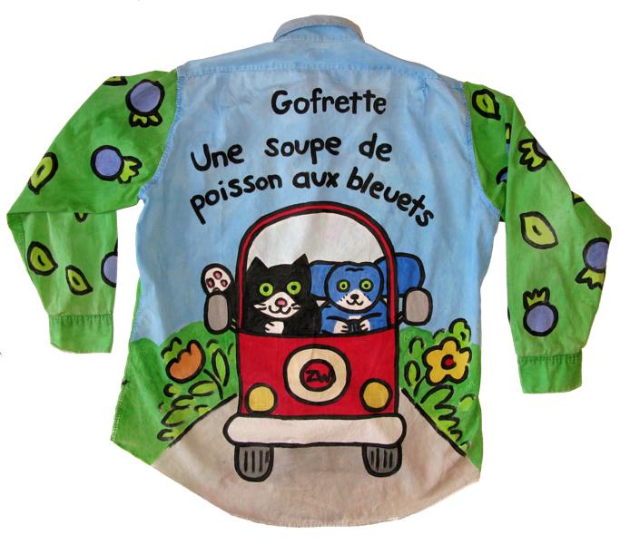 chemise gof-dos
