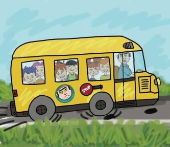 autobus plein