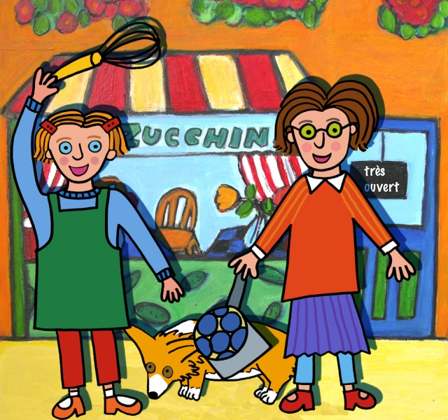 Les soeurs Zucchini